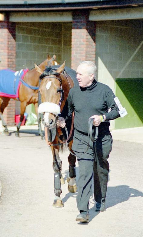 Racehorse Barati with Jockey Barry Geraghty
